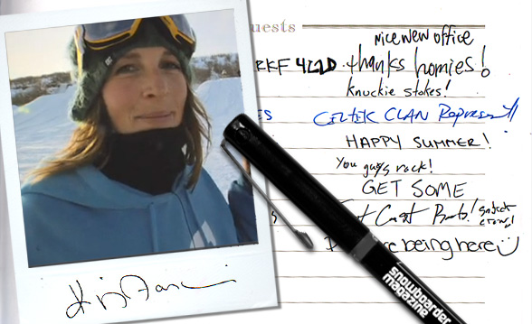 Click the picture to view the questionnaire at Snowboardermag.com