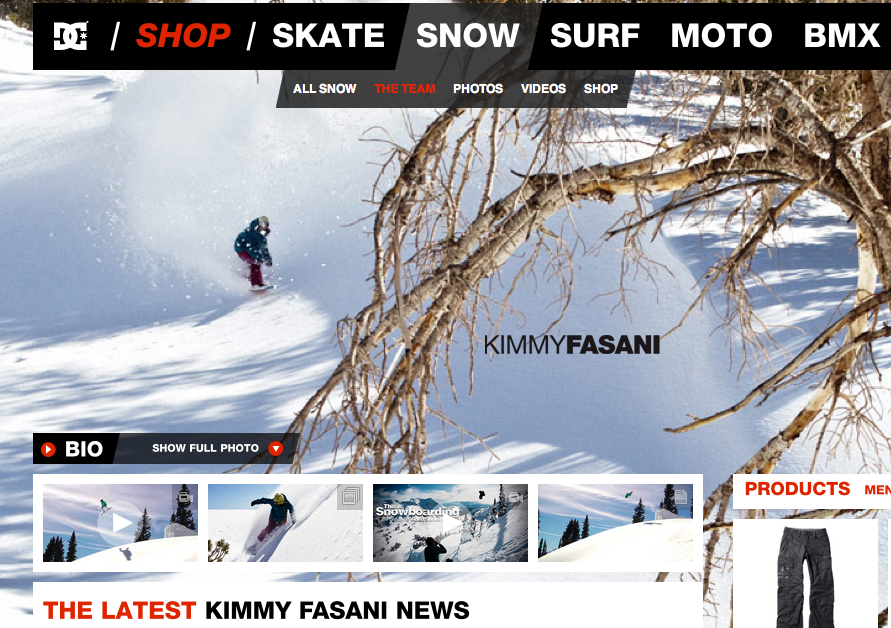 Check out Backcountry.com for Kimmy's Snowboard Gear