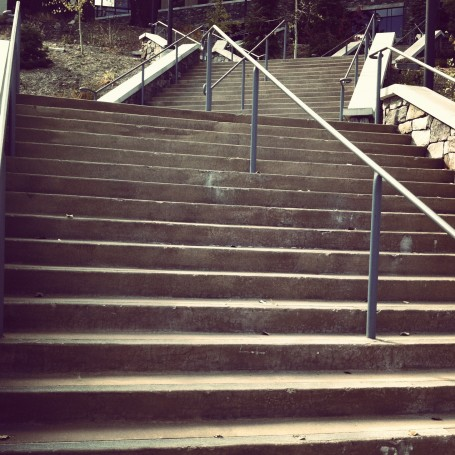 Step It Up: Outdoor Stair Workout
