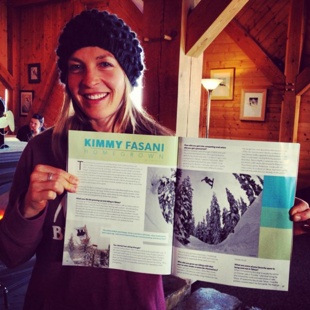 4 Page interview in Tahoe Snowboard Magazine.