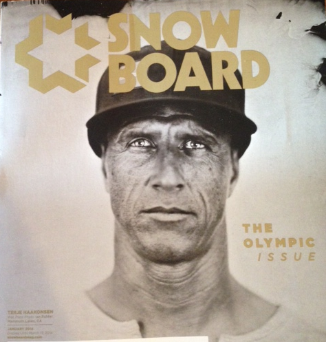 Pick up a copy of the new Snowboard Magazine to read in depth articles about this year's Olympics in Sochi, Russia. You'll also find a multiple page article I wrote called My Olympic Dream: Slopestyle Making its Sochi Debut.
