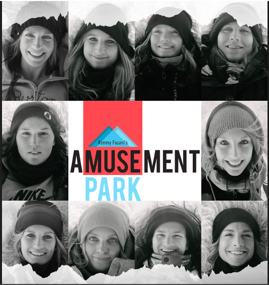 There are things that evolve into something wonderful simply by chance. Kimmy Fasani's Amusement Park definitely falls into that category. A few years back Kimmy threw around some ideas to her local resort, Mammoth Mountain, with the possibility of building a jump to try to land doubles on. She had landed in the backcountry, but it wasn't until that spring in 2011, when Mammoth backed her, that she was able to focus and confidently test the waters. She invited a few friends to session with her and yep, ended up landing the double as imagined. Three years later the annual spring gathering has turned into Amusement Park— an all-girls invite-only private session, that's all about progression, celebration and fun! To read more click the photo above.
